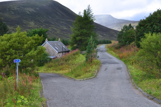 Heading to Dalwhinnie