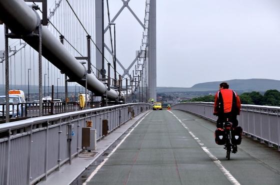 Leaving Forth Road Bridge